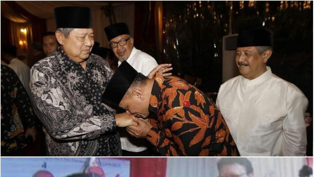 Saat Tokoh Cium Tangan: Jokowi ke Megawati dan Gatot ke SBY