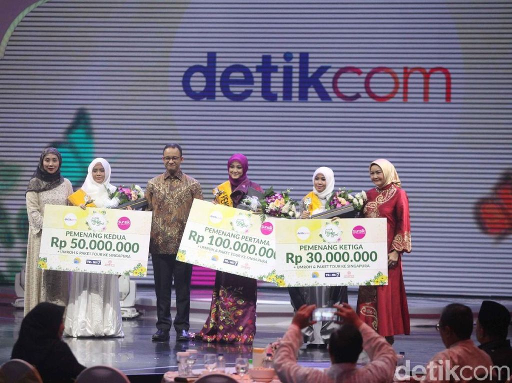 Jagoan Anies Baswedan Jadi Juara 3 Sunsilk Hijab Hunt 2018