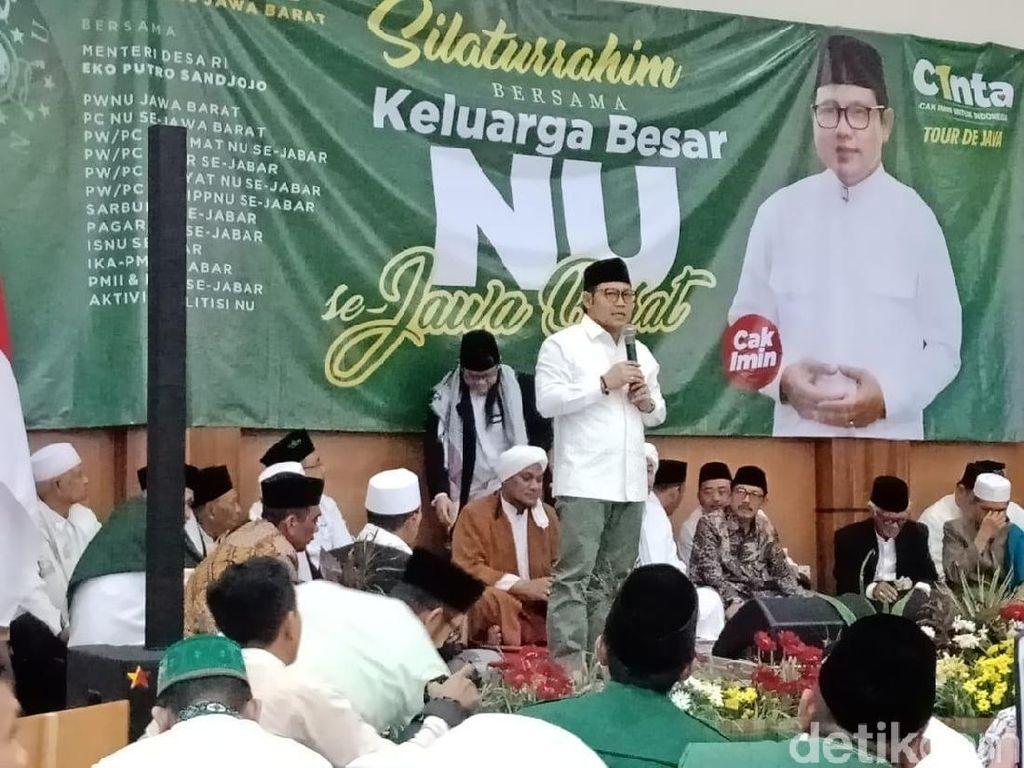 Klaim Didukung NU, Cak Imin Sebut Jokowi Rugi Bila Tak Memilihnya