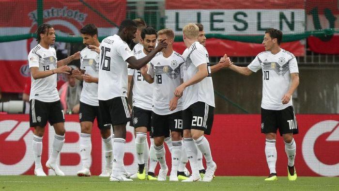 Dalam usaha mempertahankan gelar juara Piala Dunia, Jerman akan menghadapi tantangan awal di Grup F (Foto: Lisi Niesner/Reuters)