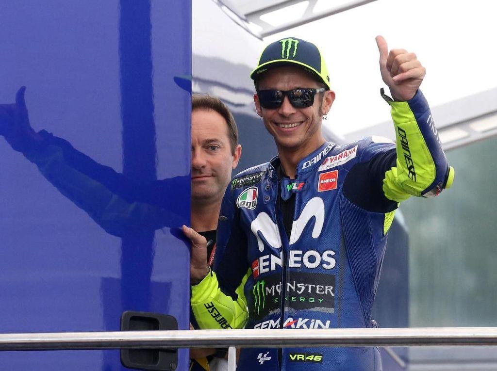 Sederet Fakta Usai Rossi Raih Pole Position MotoGP Italia