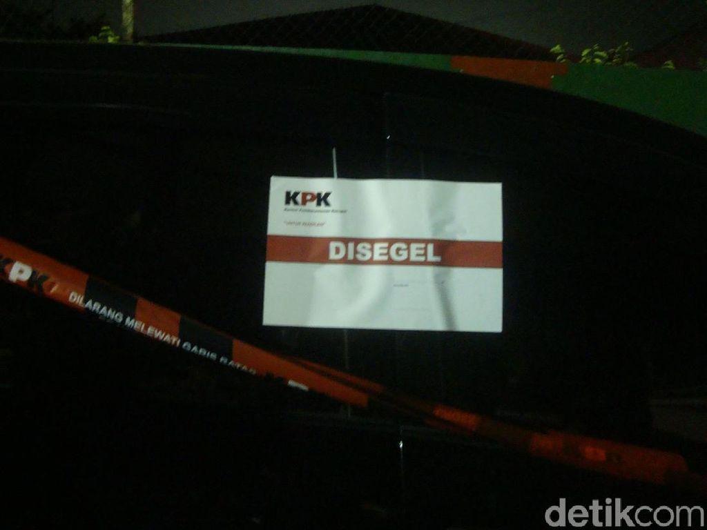 Penampakan Mobil Disegel KPK Pasca Bupati Purbalingga Ditangkap