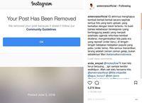 Ini Tanggapan Instagram Terkait Hilangnya Foto Amien - Rizieq