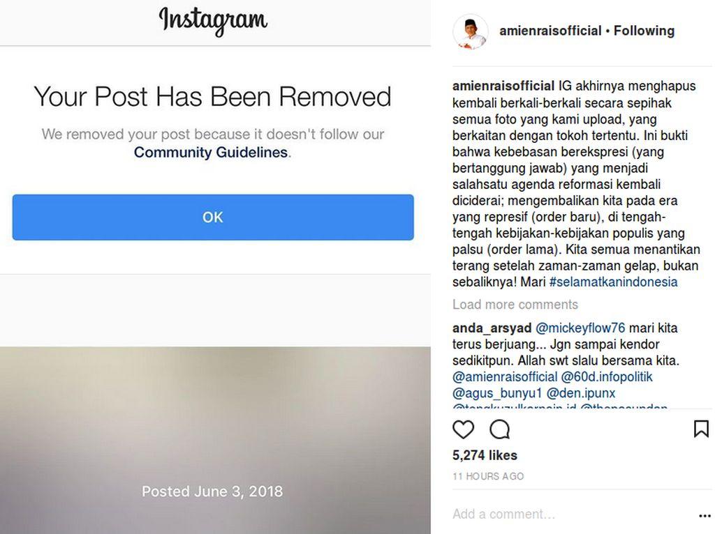 Istana: Jokowi Belum Lihat Foto Amien-Rizieq, Apalagi Menghilangkan