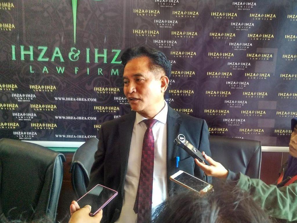 Yusril: Penghentian Dakwah Eks Anggota HTI Melanggar Hukum