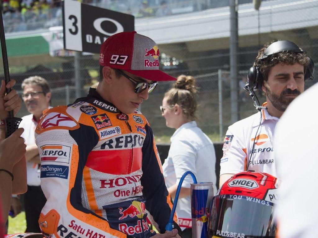 Tak Dapat Poin di MotoGP Italia, Marquez Lihat Sisi Positifnya