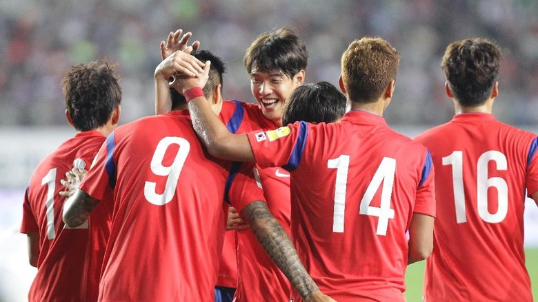 Ada di Grup Berat, Korsel Pede Lolos Fase Grup Piala Dunia 2018