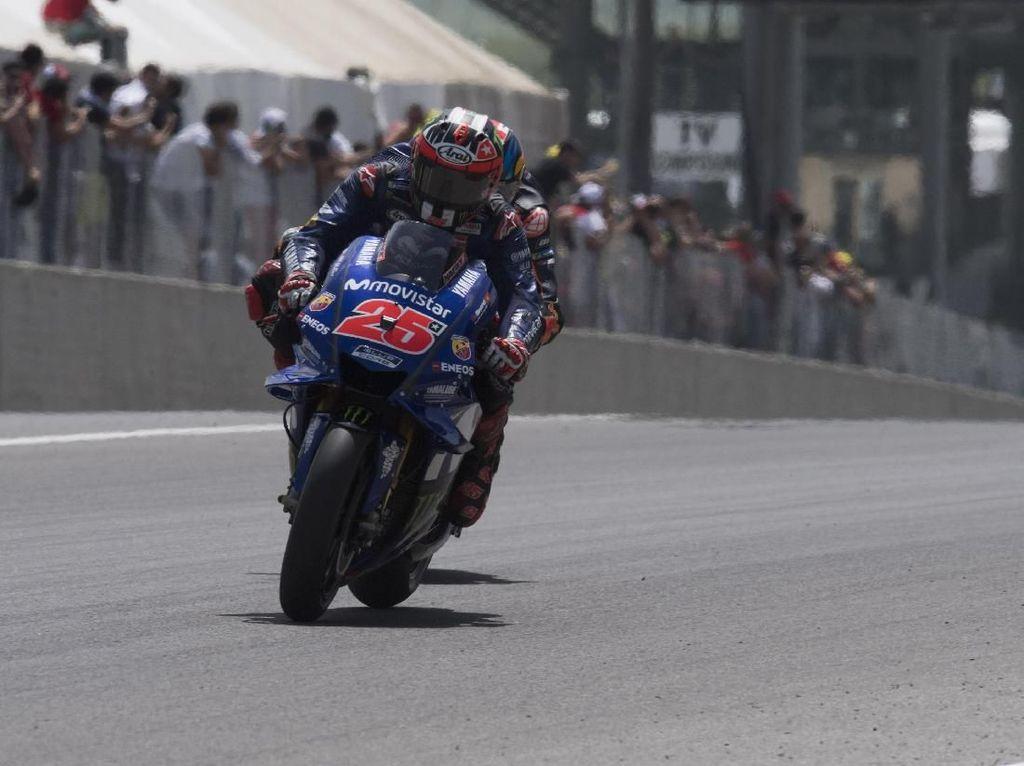 Finis Kedelapan di MotoGP Italia, Vinales Gusar pada Yamaha