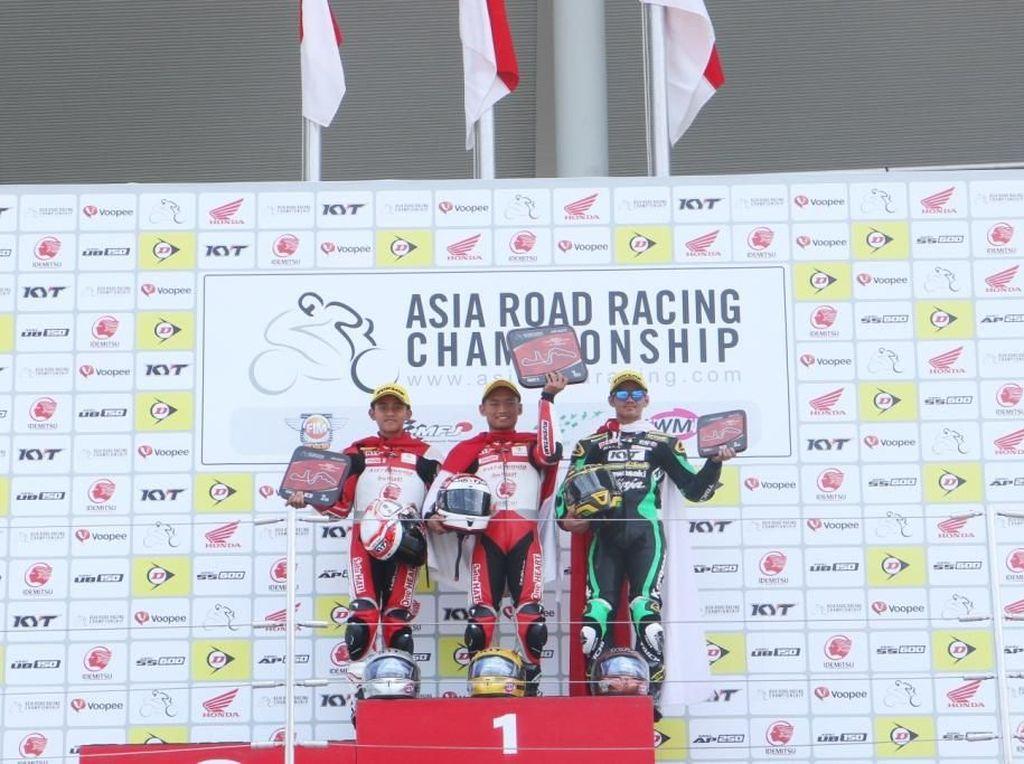 Tiga Pebalap Indonesia Naik Podium di Balapan Kedua ARRC Suzuka