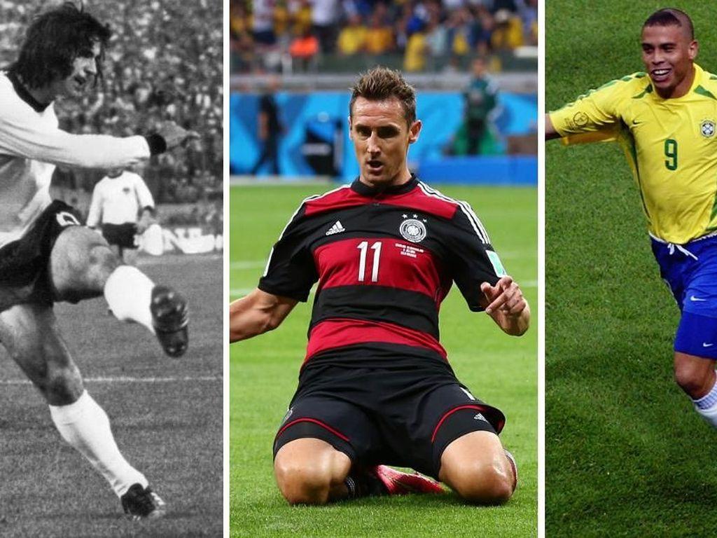 Klose Teratas, Ini Para Pemain Tersubur dalam Sejarah Piala Dunia