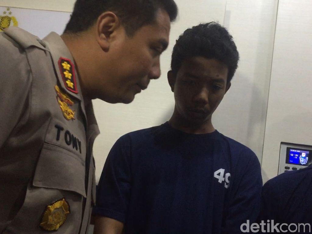 Polisi: Penyiram Air Keras Bohong Ngaku Disuruh Senior