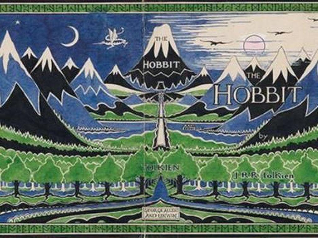 Karya Seni Langka JRR Tolkien Dipajang Perdana di Inggris