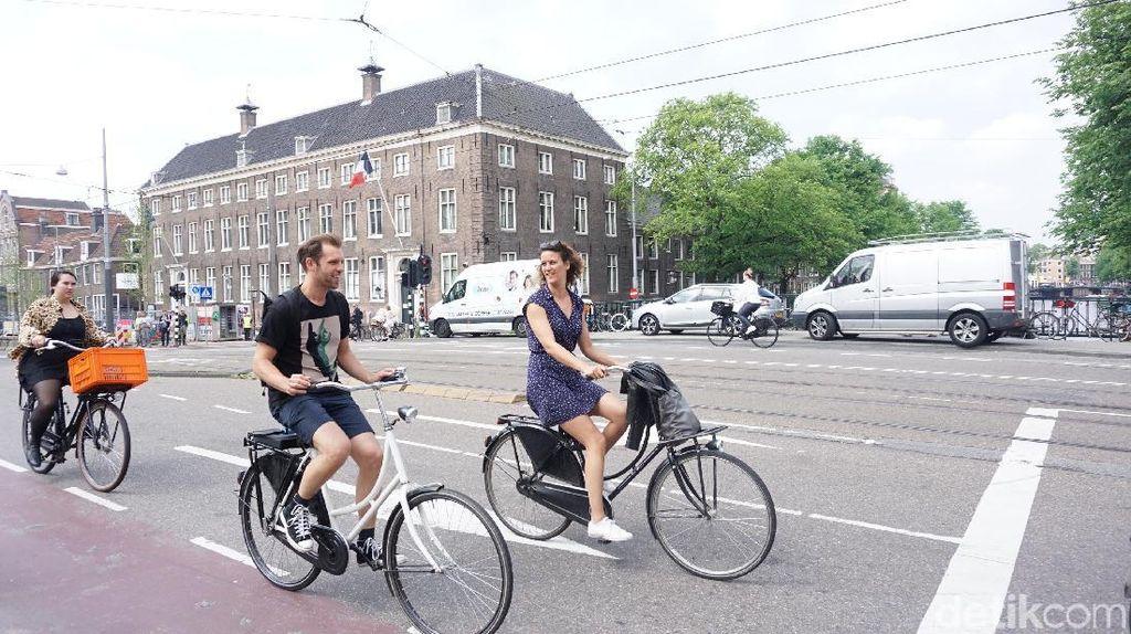 Foto: Amsterdam Si Kota Sepeda