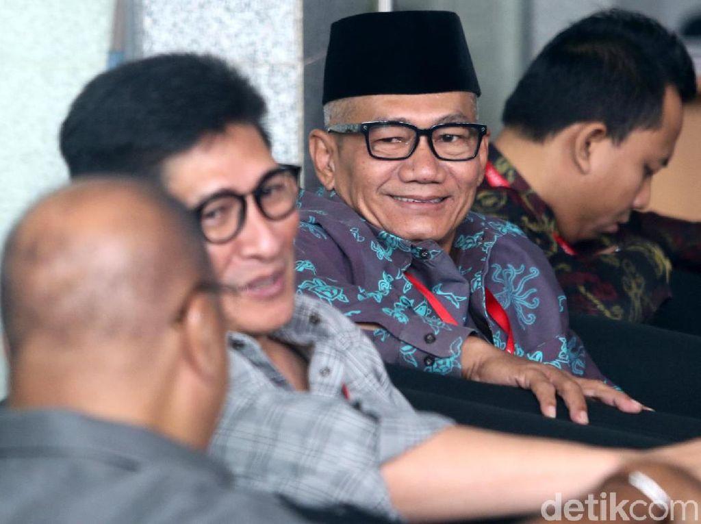 Agun, Arif, Mekeng hingga Mirwan Amir Diperiksa KPK