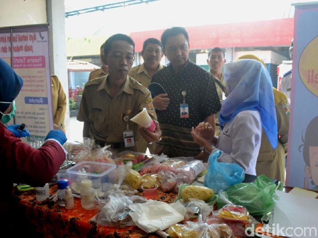 BPOM Semarang Temukan Makanan Mengandung Zat Berbahaya