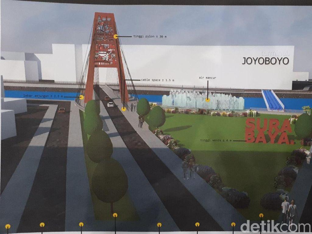 Surabaya akan Punya Jembatan Baru di Joyoboyo