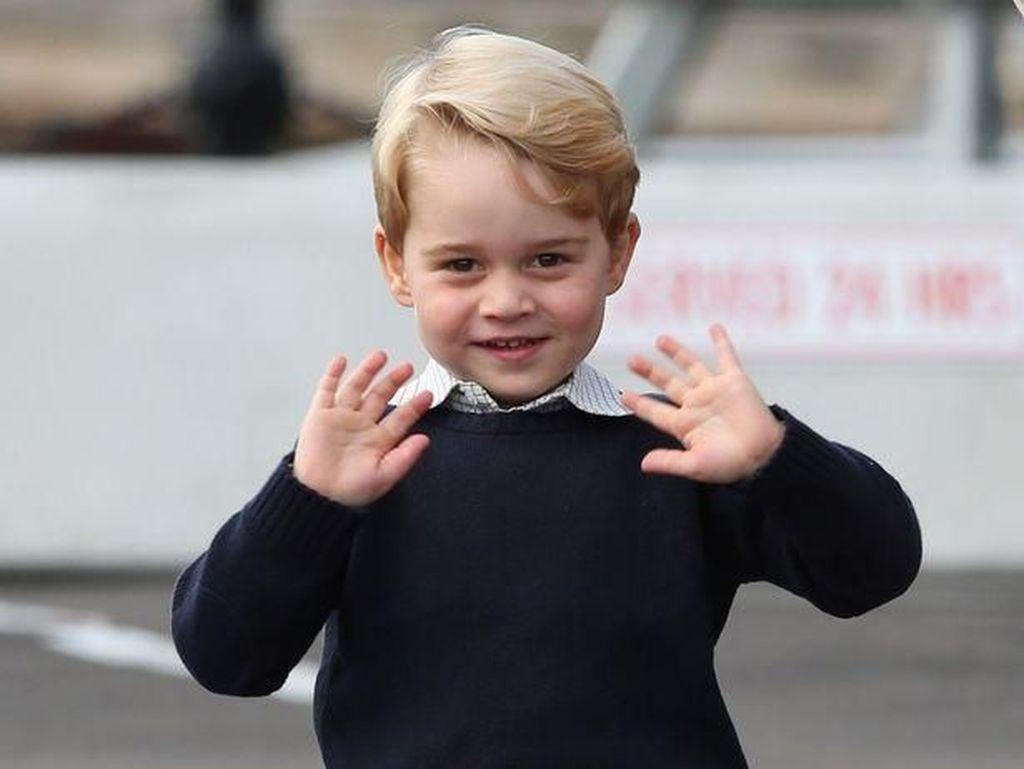 Saat Pangeran George Tak Tertarik Main dengan Putri Charlotte