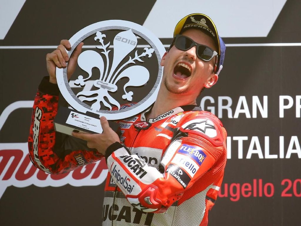Curhat Jorge Lorenzo Usai Juara di MotoGP Italia