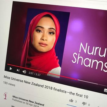 Ini Nurul, Hijabers Pertama yang Ikut Kontes Miss Universe New Zaeland