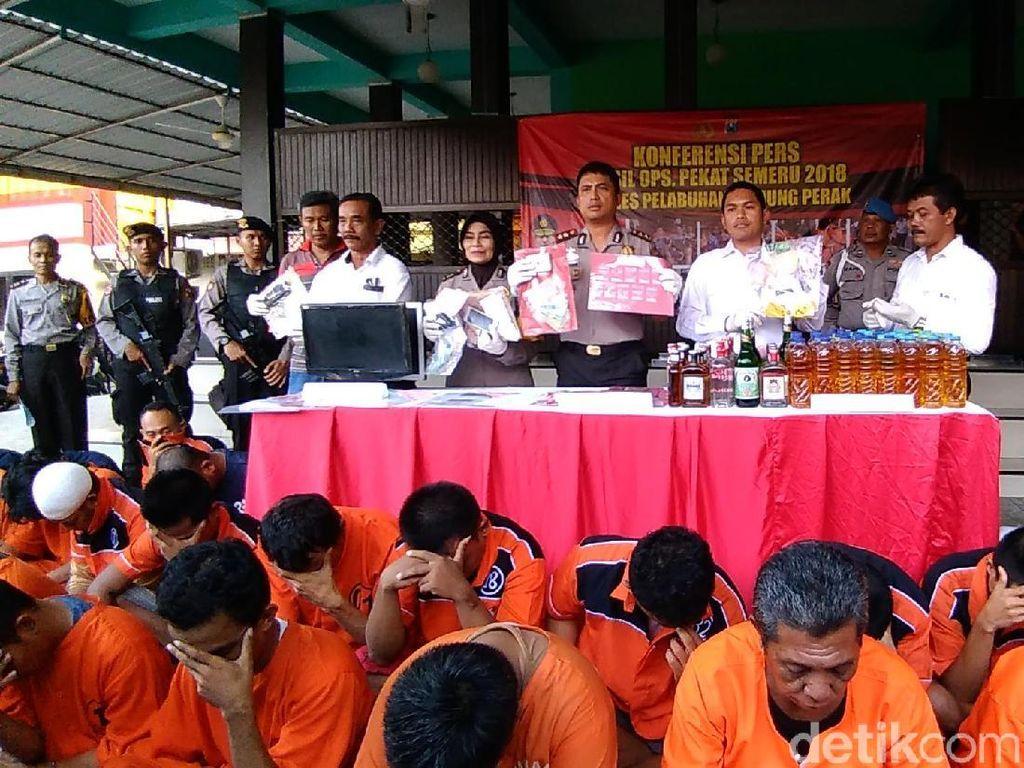 Operasi Pekat, Polisi Amankan 526 Tersangka di Wilayah Perak