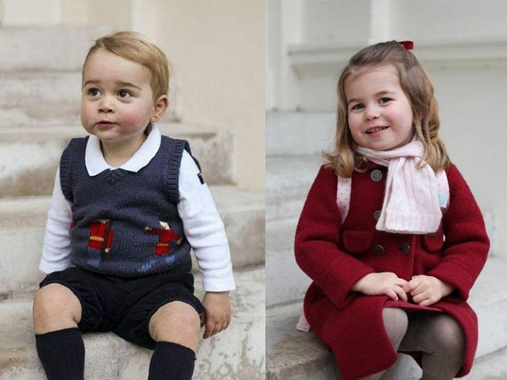 Corona Merebak di Inggris, Pangeran George - Charlotte Belajar dari Rumah
