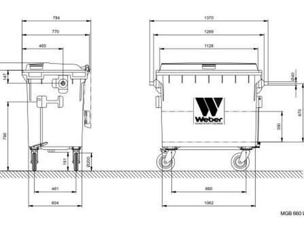 Ini Spesifikasi Tong Sampah Made in Jerman yang Dibeli Pemprov DKI