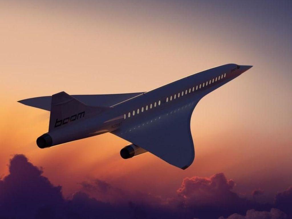 Punya Pesawat Supersonik, Maskapai Ini Bakal Buka Penerbangan Ultra Cepat