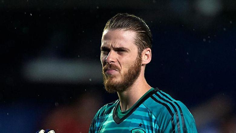 David de Gea. Kiper Manchester United yang membela timnas Spanyol ini ditaksir memiliki harga 70 juta euro. (Foto: Manuel Queimadelos Alonso/Getty Images)