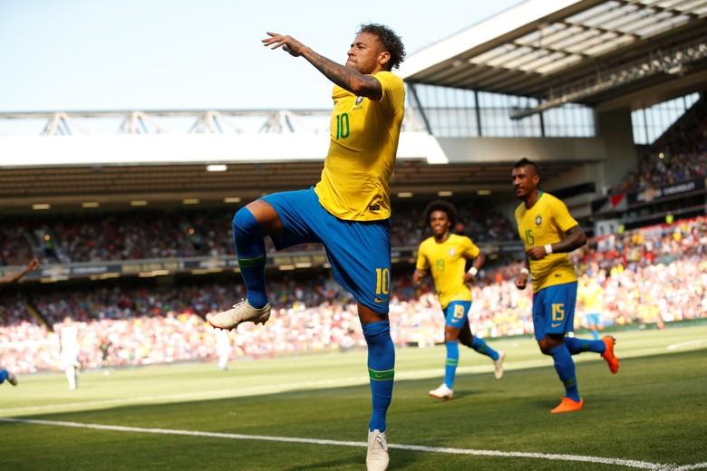 Neymar Belum 100 Persen