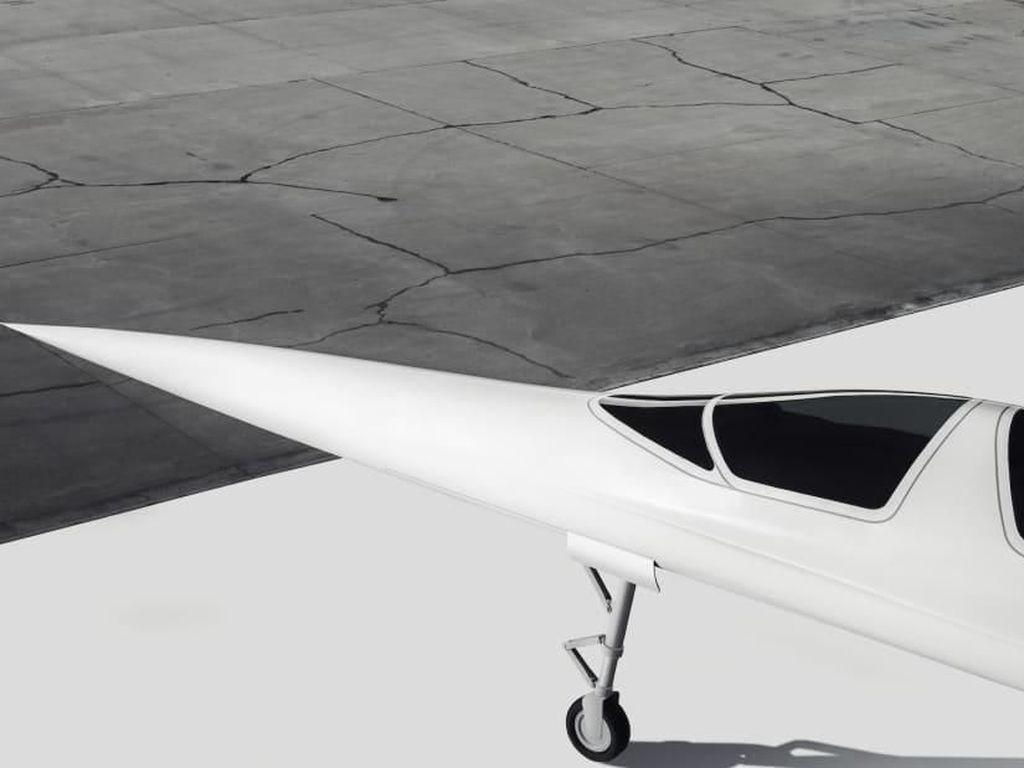 Foto: Pesawat Supersonik Pengganti Concorde dari China
