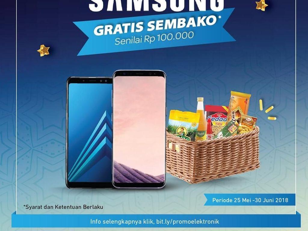Beli Samsung Gratis Parsel Lebaran di Transmart Carrefour