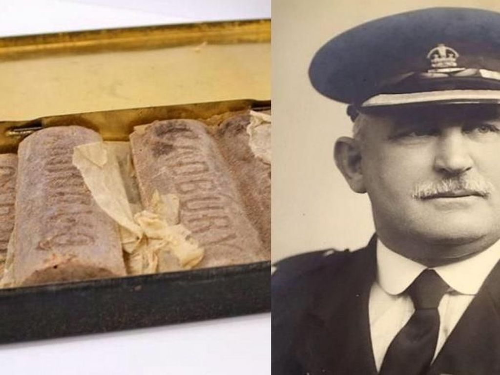 Cokelat Cadbury Berusia 103 Tahun dari Perang Dunia I Ini Akan Segera Dilelang