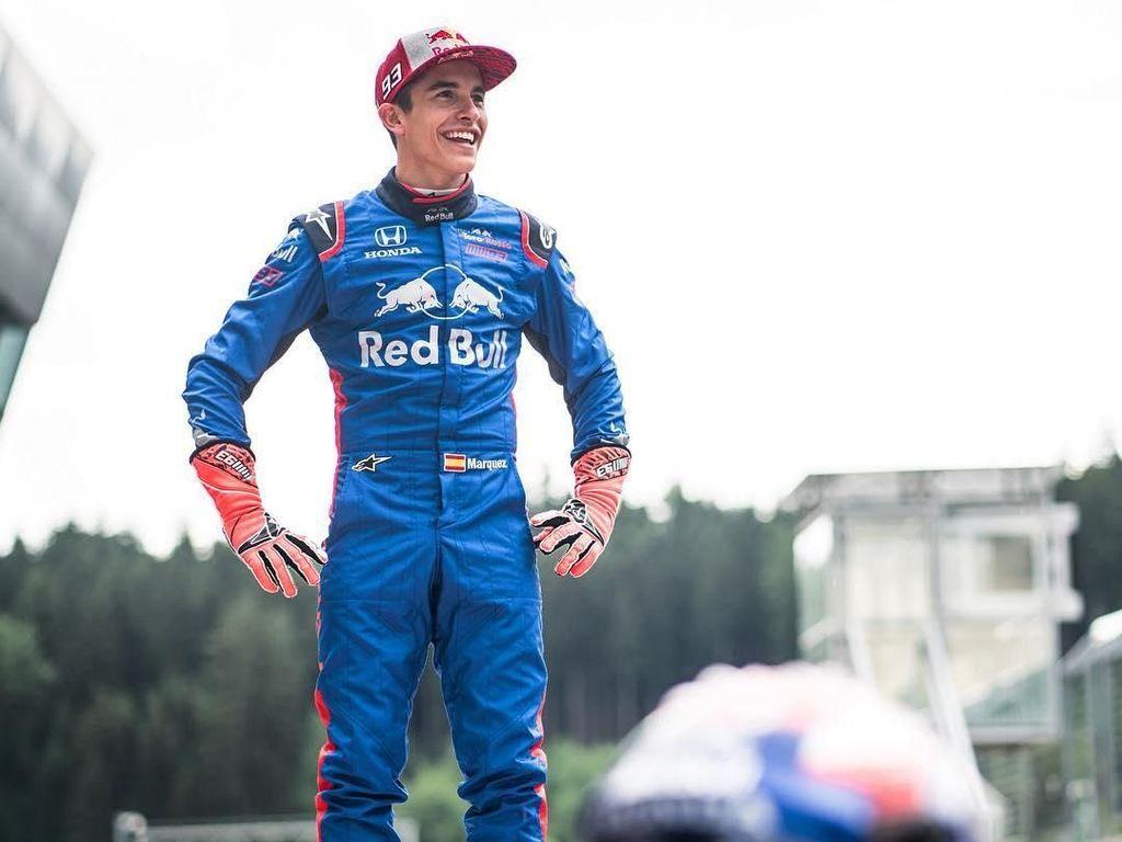 Marc Marquez Jajal Mobil Formula 1 di Austria