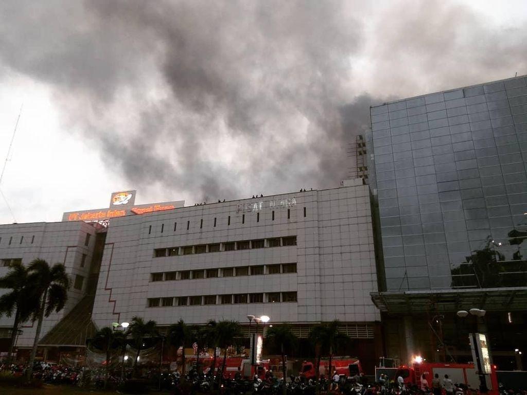 Kebakaran PRJ, Api Diduga dari Pengerjaan Proyek di Lantai 7