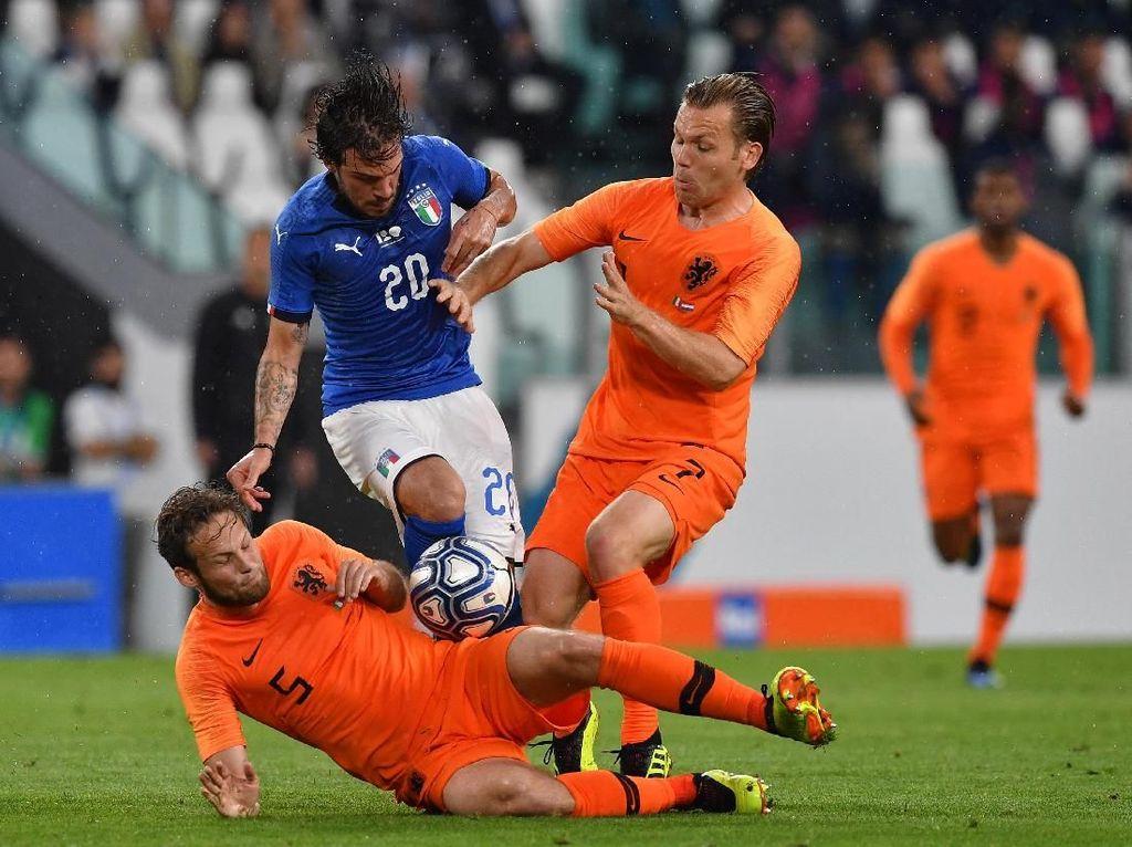 Belanda Vs Italia: Tak Ada Duel Catenaccio dengan Total Football