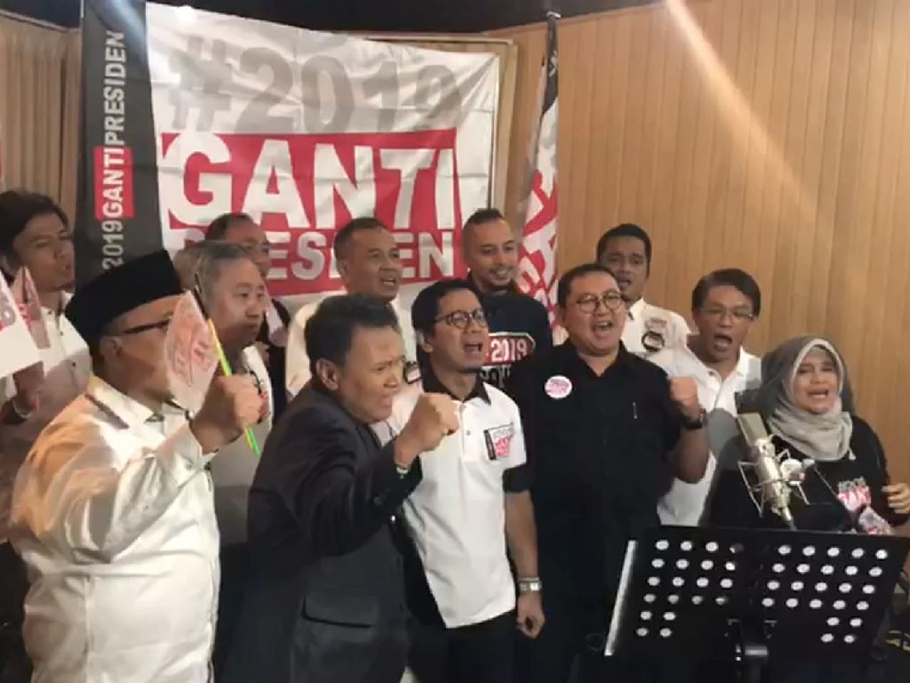 Mardani: #2019GantiPresiden Makin Kuat Menyapu Indonesia