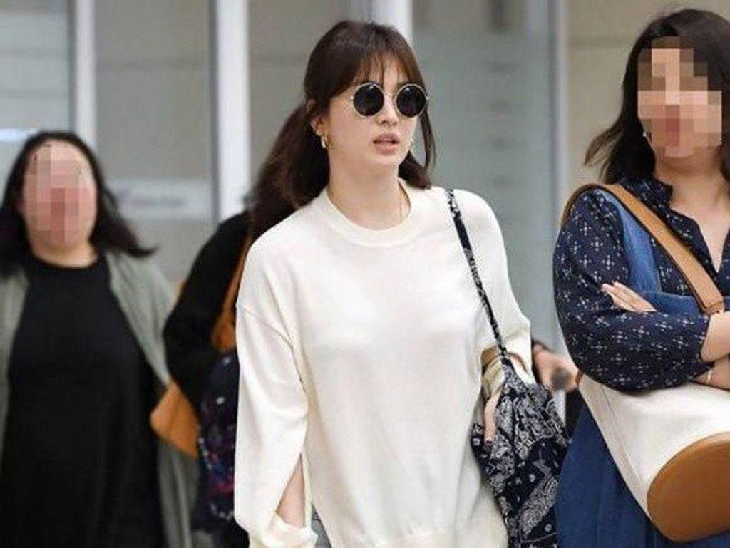 Jarang Terlihat, Penampilan Terbaru Song Hye Kyo Bikin Gagal Fokus