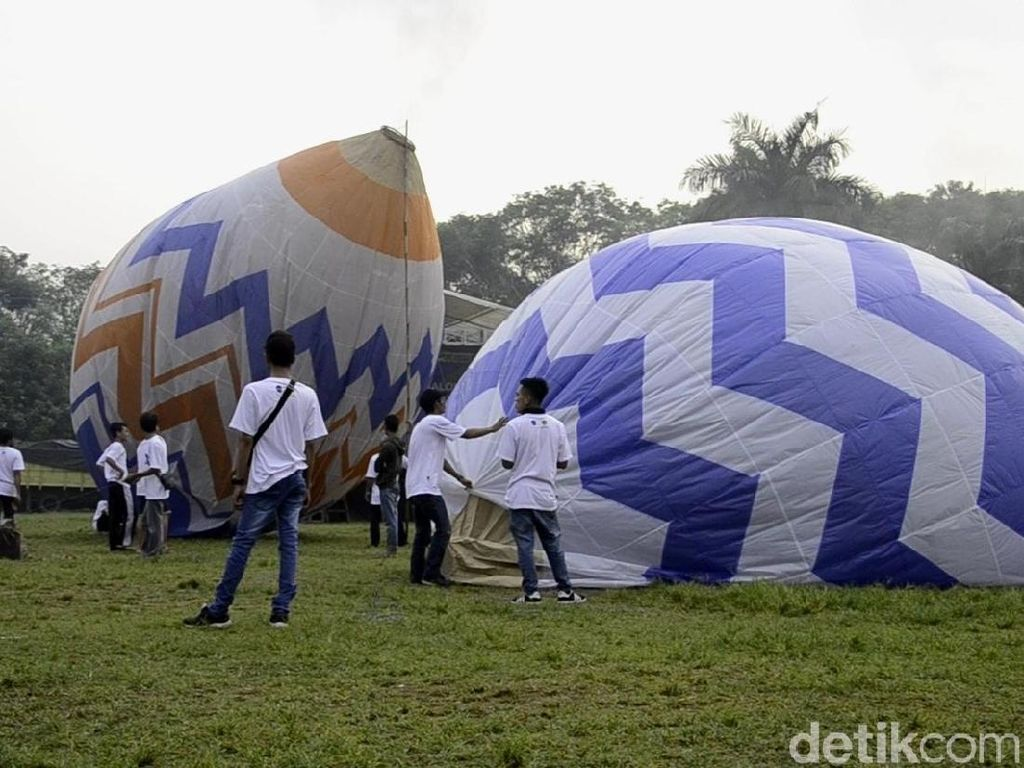 Hati-hati! Terbangkan Balon Udara Bisa Ganggu Pesawat