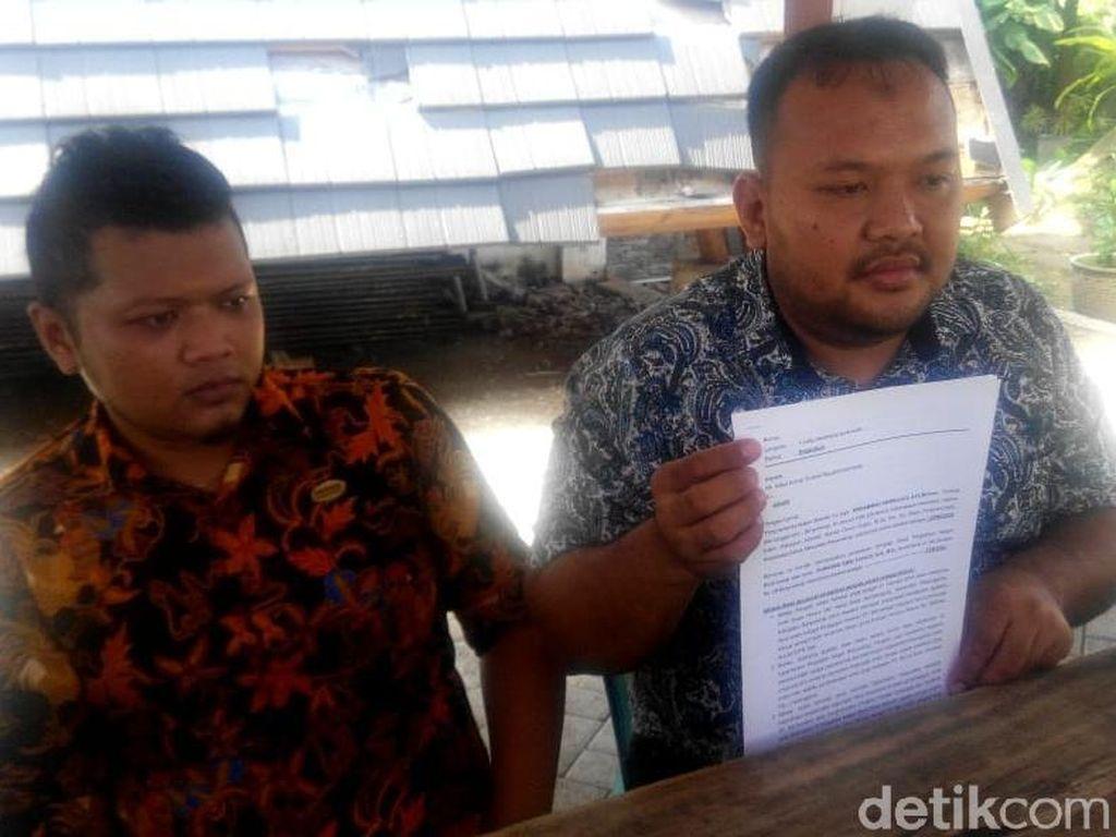 Salah Ketik, PN Banyuwangi Dilaporkan Ke Komnas HAM dan KY