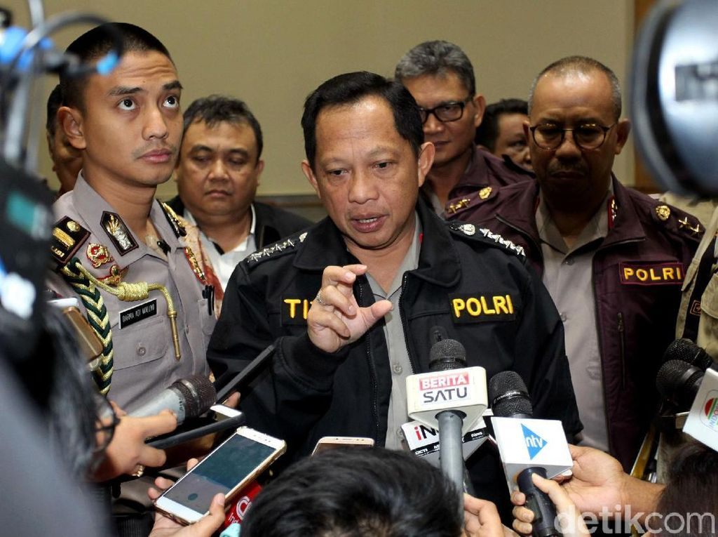 Kapolri Pilih Gandeng Komnas HAM, Tolak Pembentukan TGPF 21 Mei