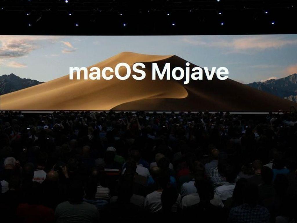 Apple Resmi Umumkan macOS 10.14  Mojave