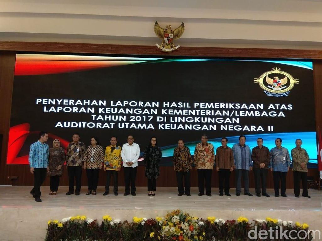 Laporan Keuangan 13 Kementerian/Lembaga Dapat Penilaian WTP