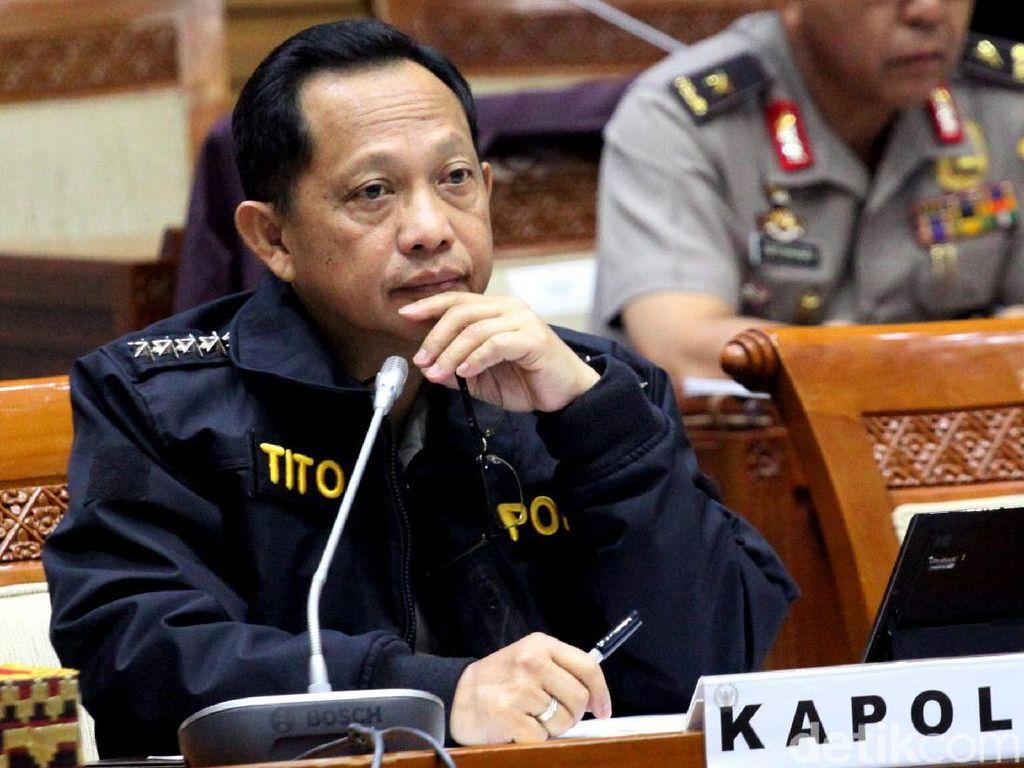 Pensiun 3 Tahun Lagi, Jenderal Tito Sudah Berhenti Jadi Kapolri