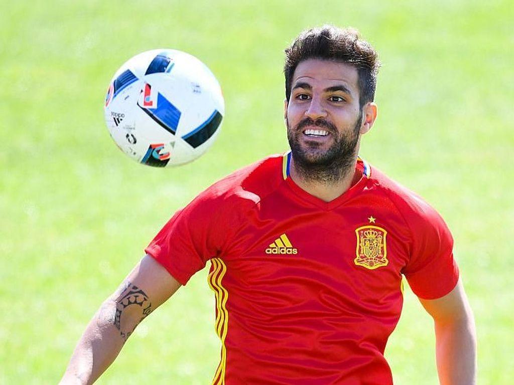 Karier Fabregas di Timnas Spanyol Sudah Tamat?