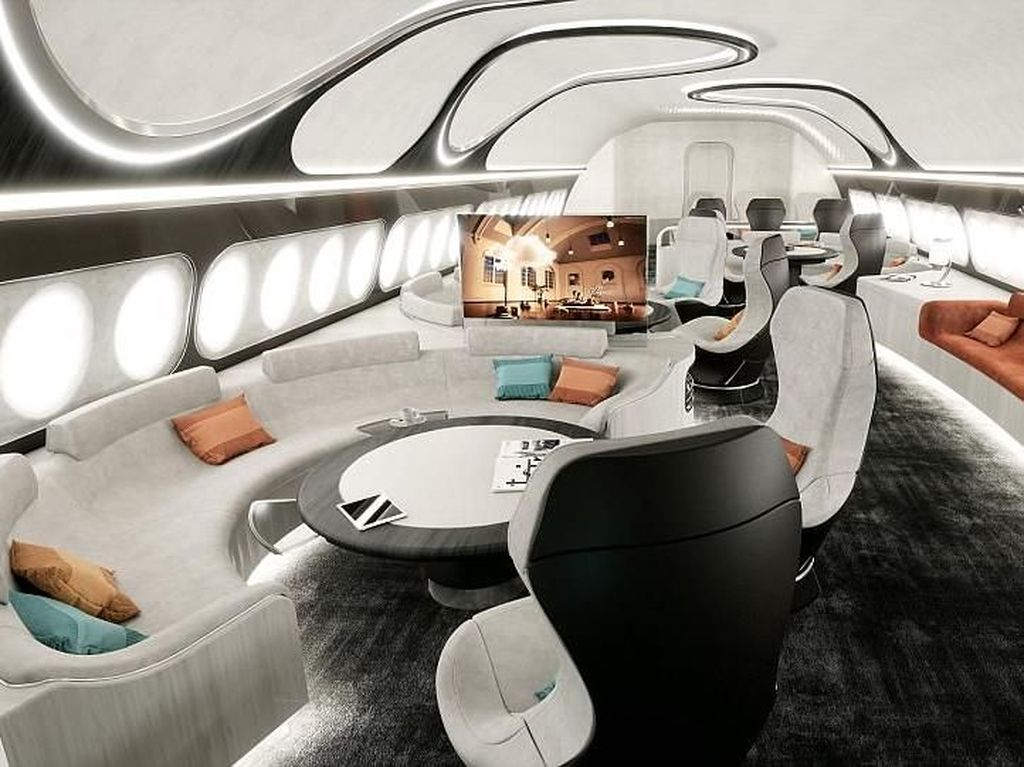 Business Class Lewat, Airbus Hadirkan Hotel di Pesawat