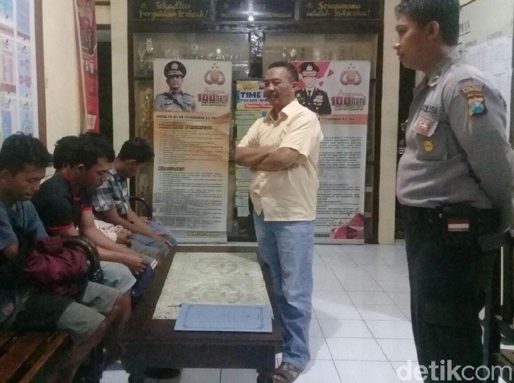 Kencing Sembarangan, 5 Pemuda di Situbondo Diciduk Polisi