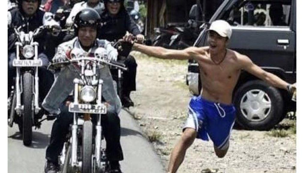 Momen Bona Colek hingga Bertemu Jokowi di Istana
