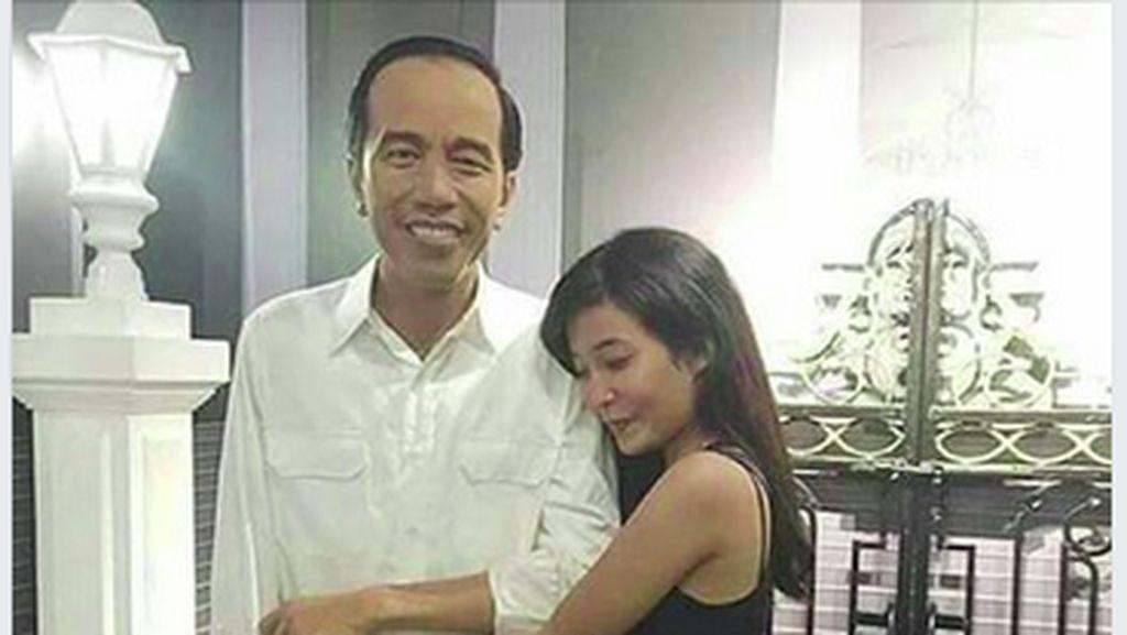 Tentang Jokowi yang Heboh Dipeluk Gadis