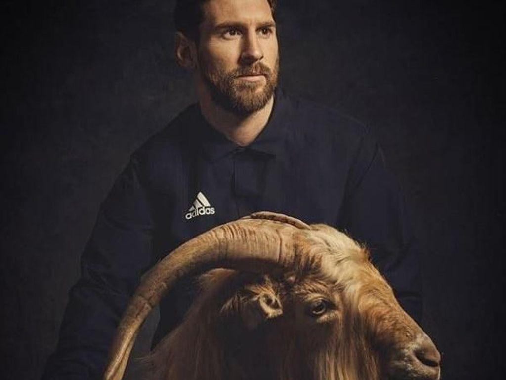 Meme-meme Messi dan Kambing