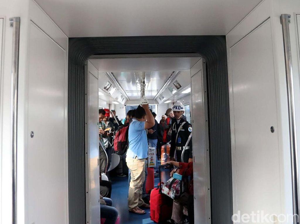Skytrain Bandara Soeta Siap Bantu Pemudik